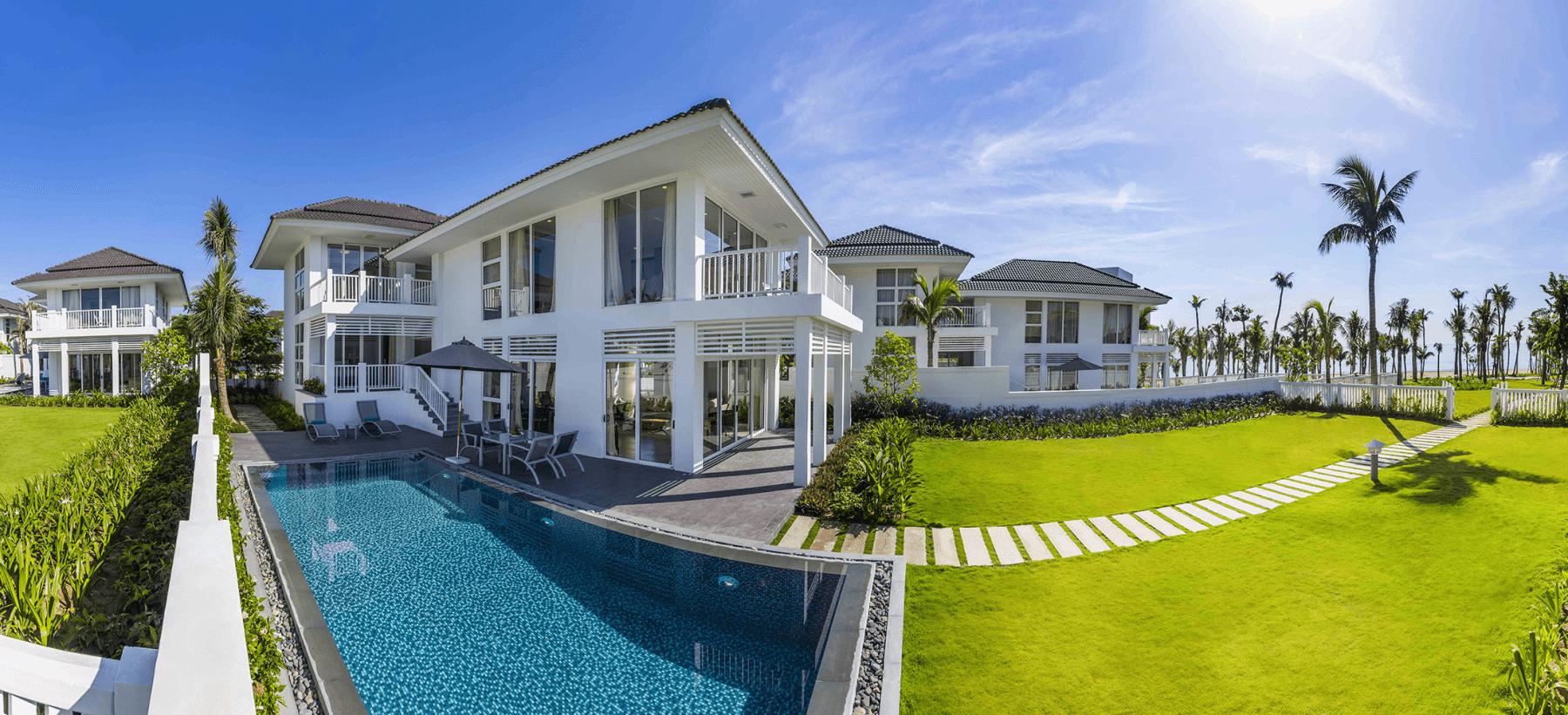 Biệt thự có lối đi riêng ra biển tại Premier Đà Nẵng Resort