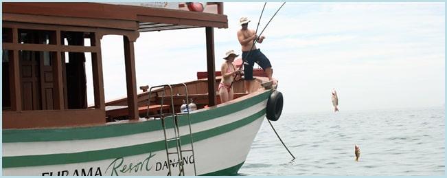 Tour câu cá của Resort Furama Đà Nẵng