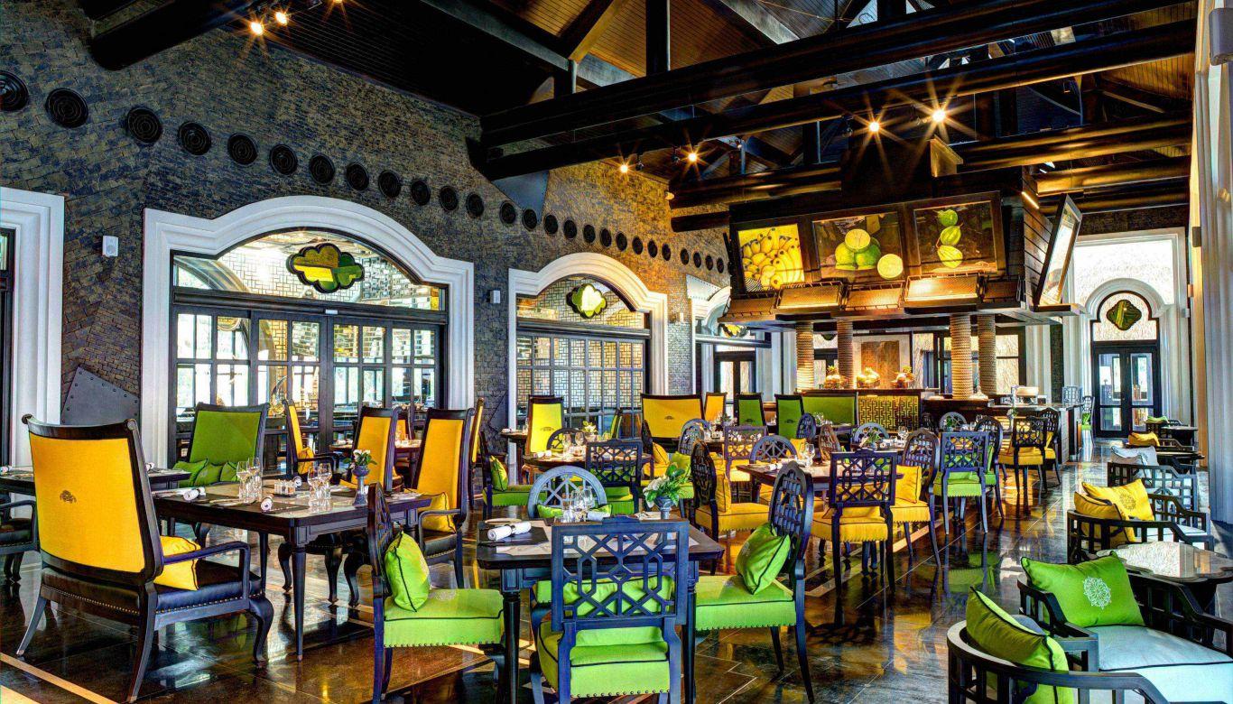 Sự bày trí đẳng cấp sang trọng của nhà hàng Citron Intercontinental Đà Nẵng