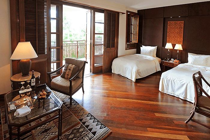 Không gian ấm áp và gần gũi trong các căn phòng khách sạn furama đà nẵng