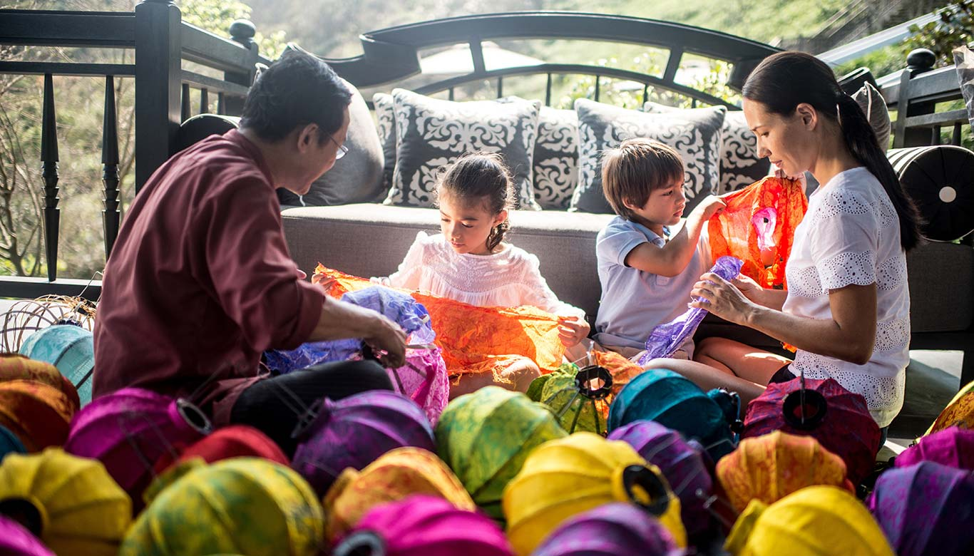 Cùng gia đình vui chơi quây quần bên nhau tại Intercontinental Đà Nẵng