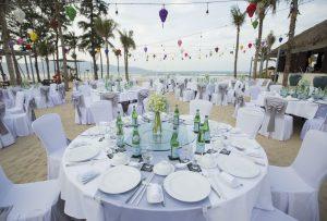 Không gian tổ chức sự kiện ngoài trời tại Pullman Resort Đà Nẵng