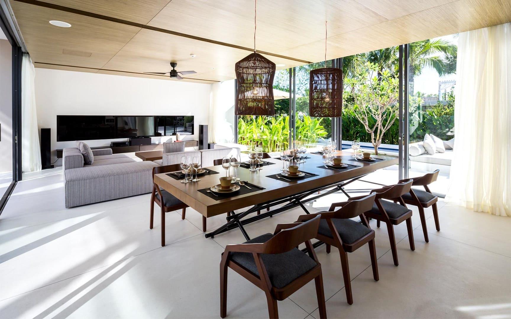 Tiện nghi đầy đủ và sang trọng trong căn biệt thự hướng vườn Naman Đà Nẵng