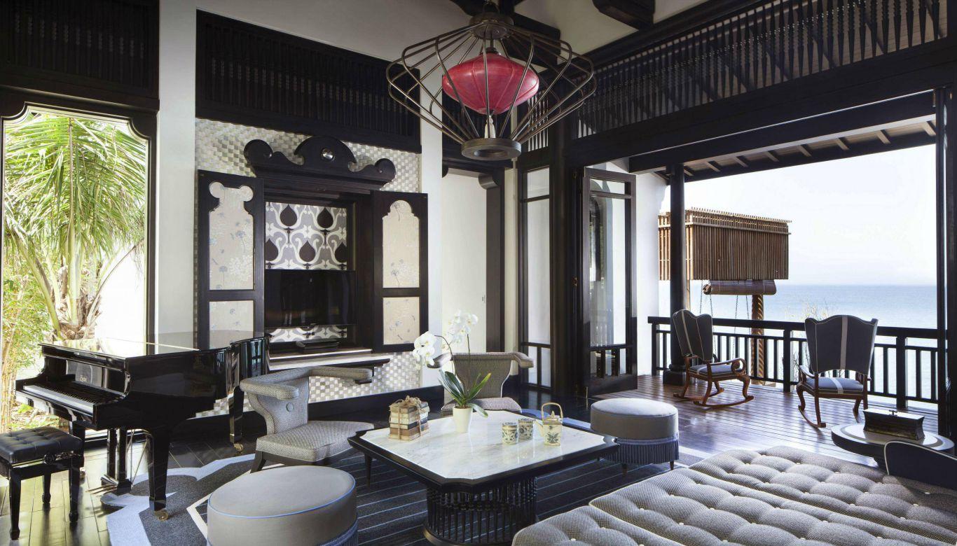 Đẳng cấp thể hiện trong từng chi tiết trong căn biệt thự Penthouse Intercontinental Đà Nẵng