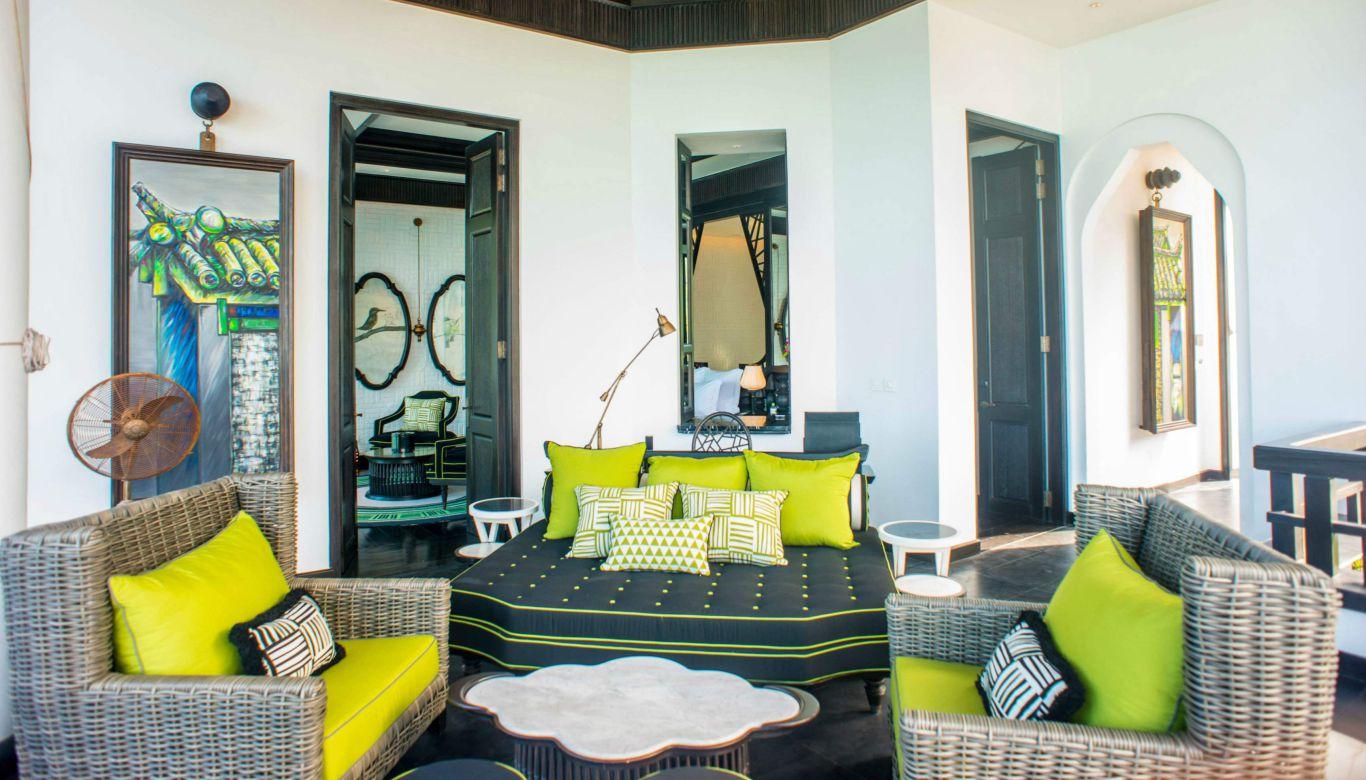 Một căn phòng thể hiển sự tinh tế của Room Suite Club Intercontinental Đà Nẵng