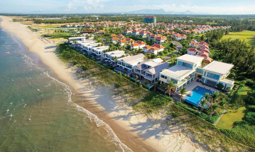 Hình ảnh những căn biệt thự tuyệt đẹp của The Ocean Villa Resort Đà Nẵng