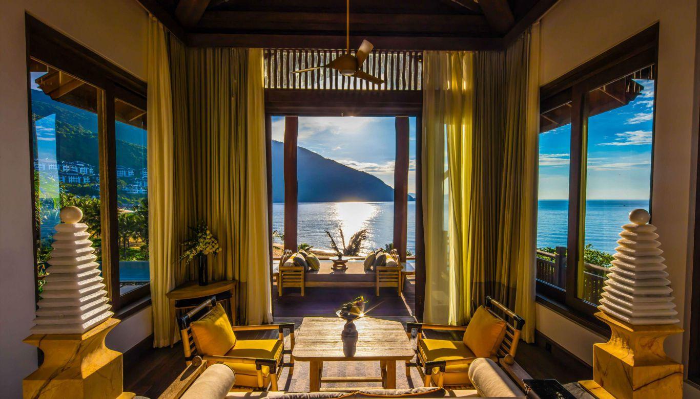 Sự ấm áp chan chứa của biển trong căn biệt thự intercontinental Đà Nẵng