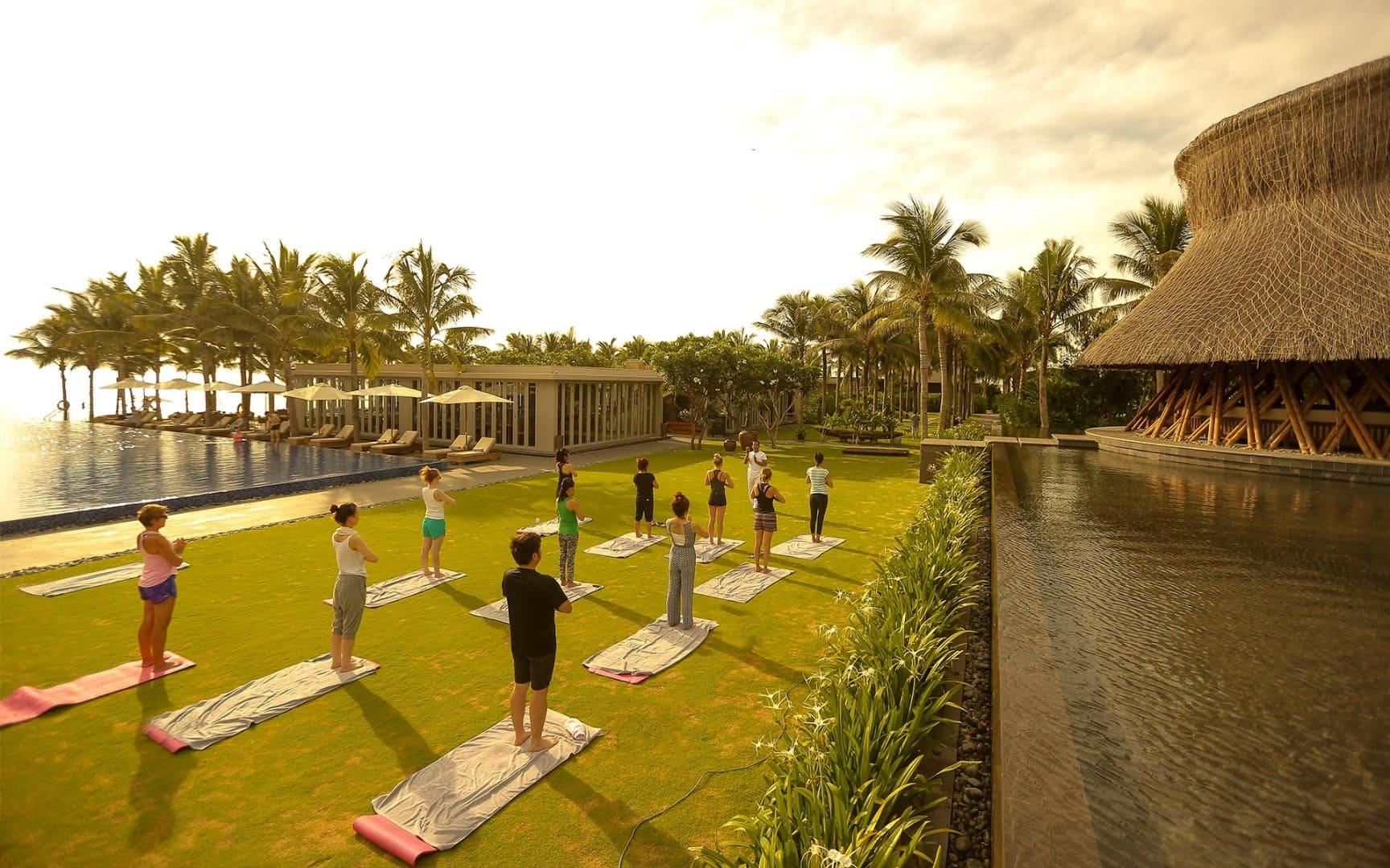 Cùng nhau chăm sóc sức khỏe tại Naman Retreat Đà Nẵng