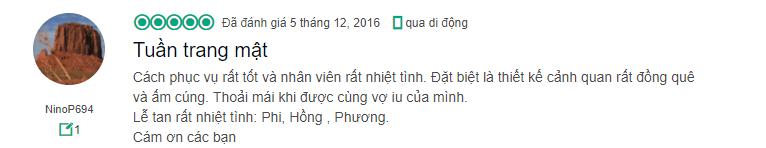 Cảm xúc của cặp vợ chồng hưởng tuần trang mật tại naman đà nẵng