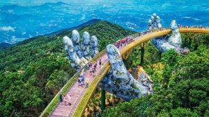 Cầu Vàng tại Bà Nà Hills Đà Nẵng