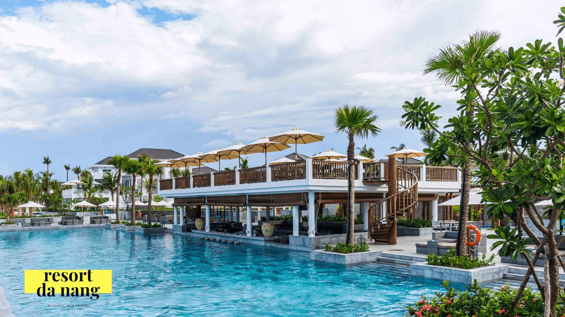 Hình ảnh hồ bơi tuyệt đẹp của Premier resort đà nẵng