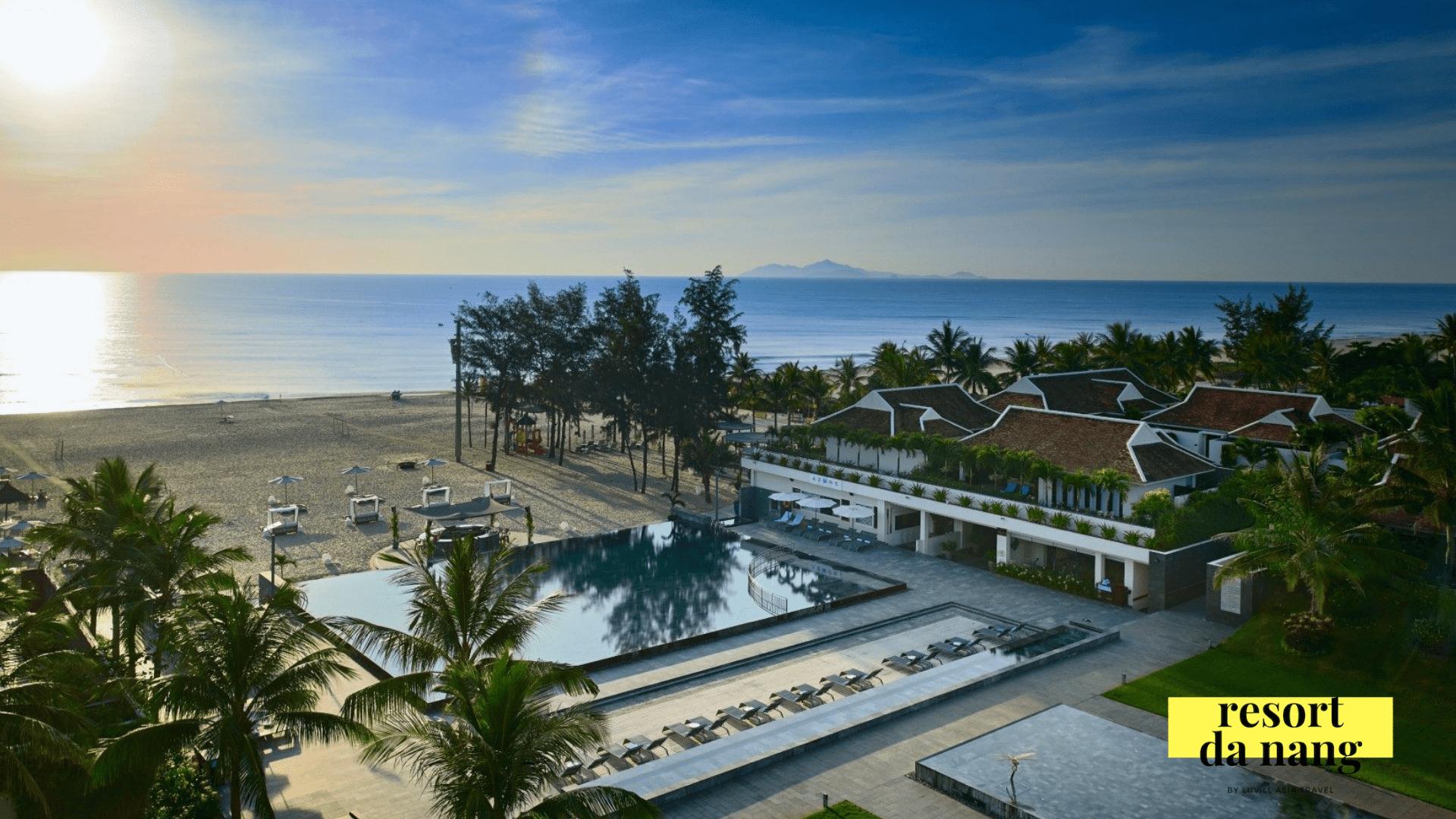 Hòa mình vào biển tại Pullman Resort Đà Nẵng