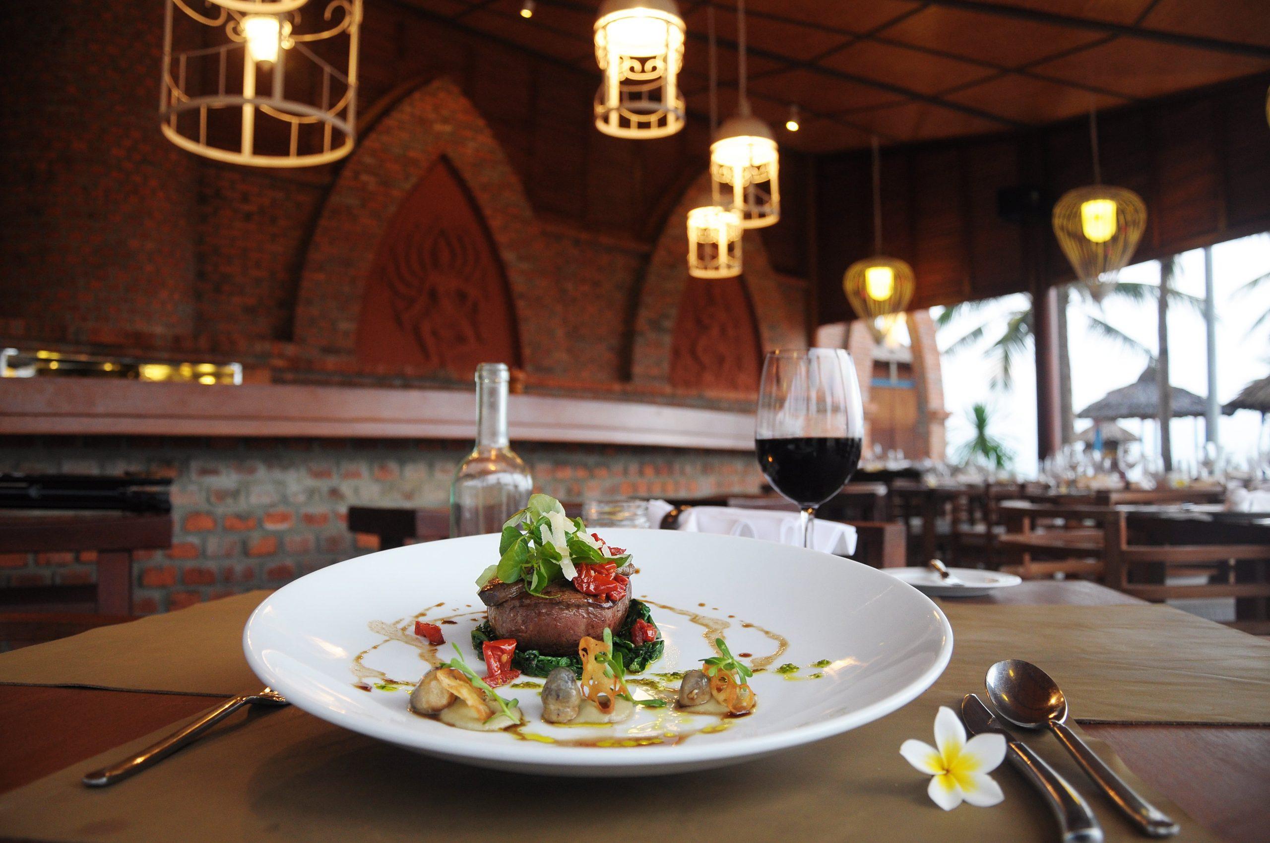 Sự tinh tế trong từng món ăn tại furama đà nẵng