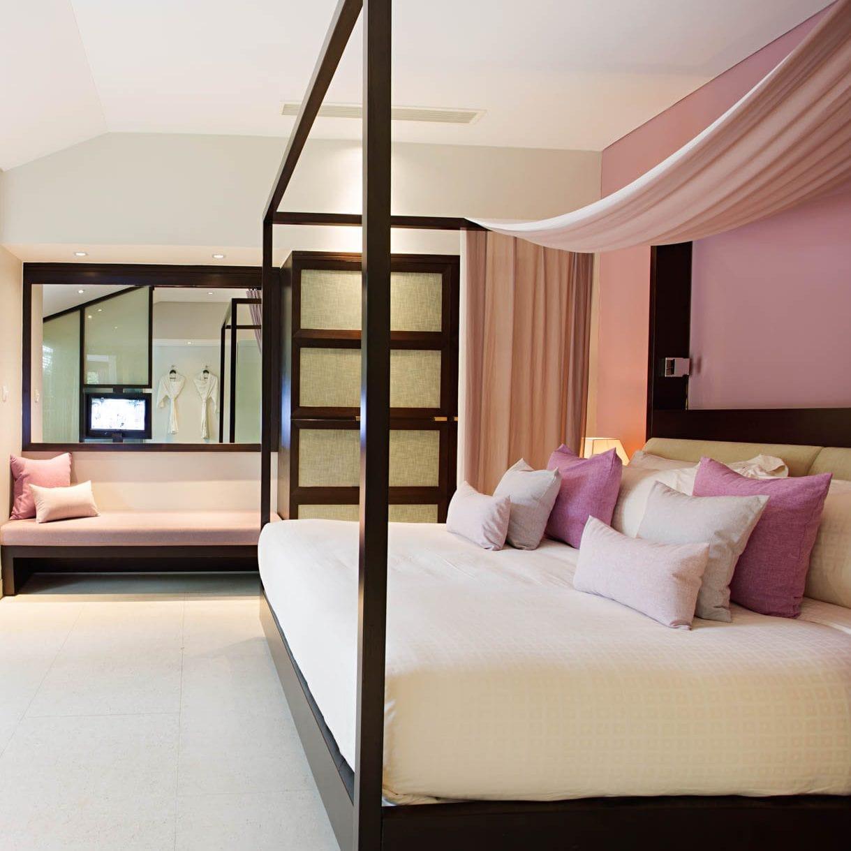 Phòng ngủ sang trọng và đầy đủ tiện nghỉ