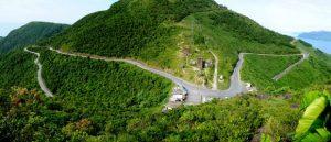 Cung đường đèo tại Đèo Hải Vân