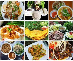 Những món ngon nổi tiếng của Đà Nẵng tại khu ẩm thực trong nhà chợ Cồn
