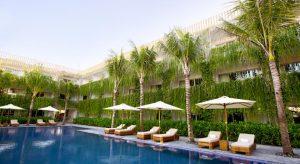 Vườn treo Babylon độc đáo tại các căn phòng khách sạn tại khu nghỉ dưỡng Naman Đà Nẵng