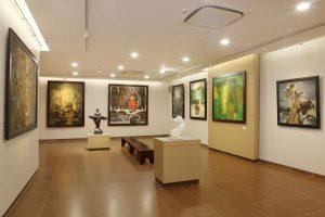 Thưởng thức nghệ thuật tại bảo tàng Mỹ Thuật Đà Nẵng