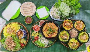 Vô vàn các món ăn ngon có mặt tai Bếp Trang Đà Nẵng