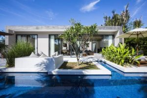Garden View Pool Villa tại khu nghĩ dưỡng Naman
