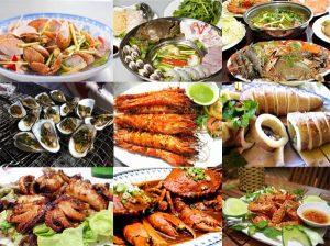Vô vàn những món hải sản tươi ngon tại Đà Nẵng