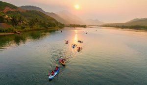 Hưởng thụ bình yên tại Đồng Xanh - Đồng Nghệ