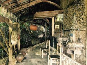 Nhà Kí ức làng chài tại bảo tàng Đồng Đình