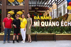 Những nghệ sĩ nổi tiếng thường hay ghé đến Mỳ quảng ếch Bếp Trang thưởng thức