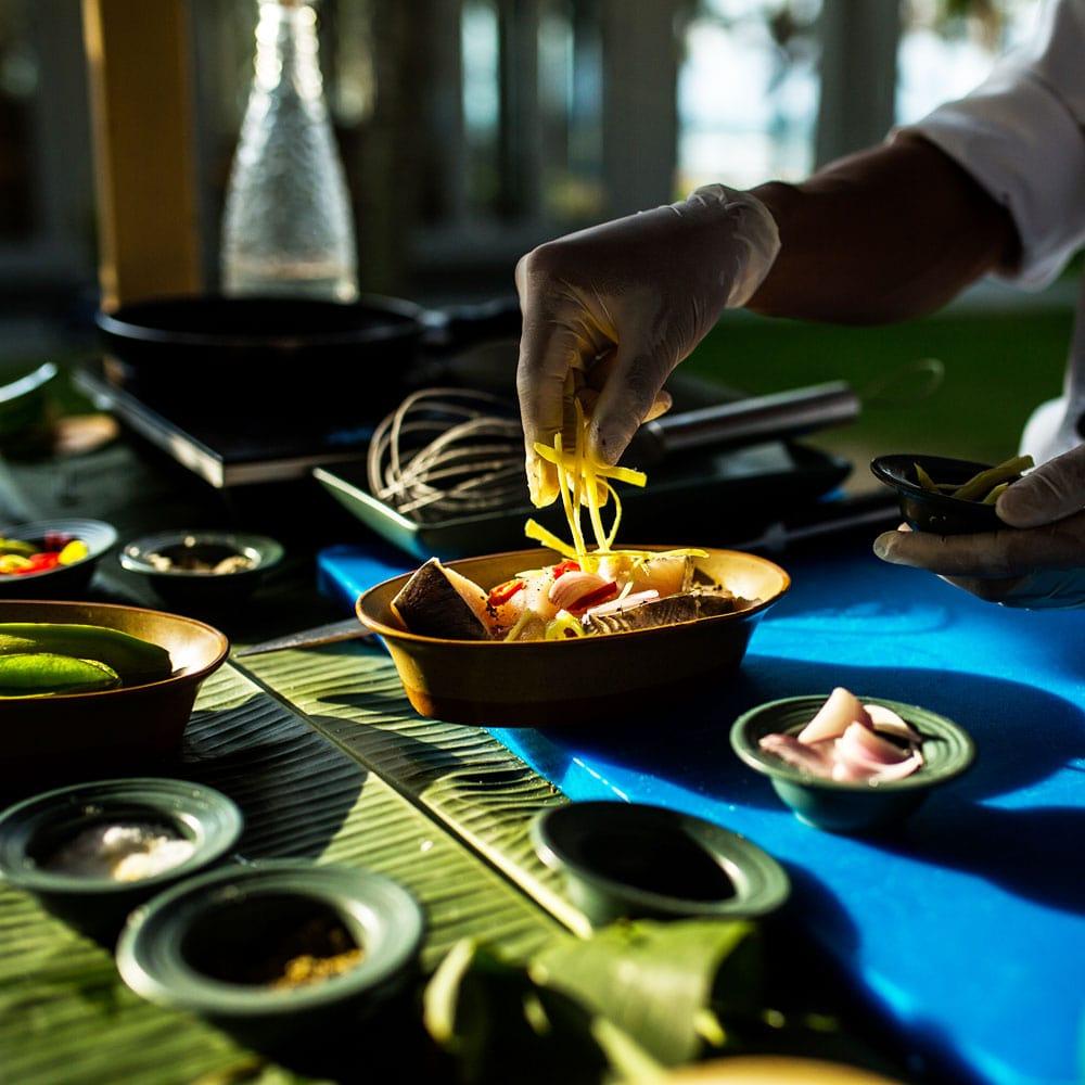 Những món ăn được chế biến tình tế từ các đầu bếp Naman Đà Nẵng