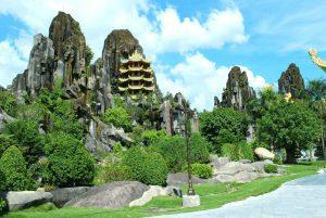 Phong cảnh hữu tình ở ngọn Thủy Sơn tại Ngũ Hành Sơn Đà Nẵng