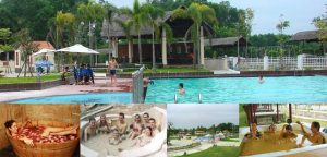 Thư giãn tại suối khoáng nóng Phước Nhơn