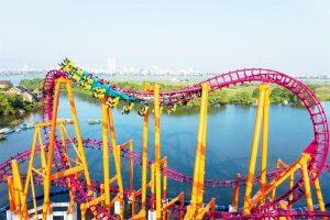 Trò chơi giải trí ngoài trời tại Công viên Châu Á