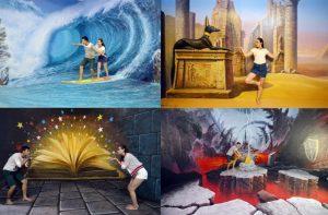 Thỏa sức tạo dáng sống ảo tại bảo tàng tranh 3D Đà Nẵng