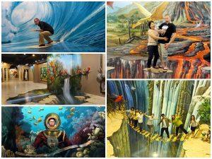 Với nhiều khu vực nhiều chủ đề khác nhau sẽ đem đến cho bạn một không gian chụp hình lý tưởng tại bảo tàng 3D Đà Nẵng