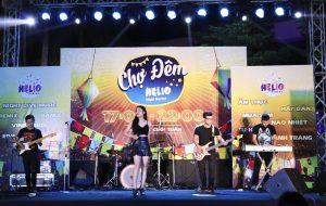 Hòa cùng không khí sôi động cùng với các band nhạc tại chợ đêm Helio Đà Nẵng