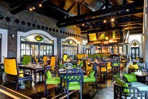 Nhà hang Citron tạo không gian thoải mái cho thực khách