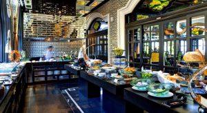 Gian bếp của nhà hàng Citron - InterContinental Đà Nẵng