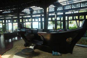 Thú vị với chỗ ngồi bằng thuyền tại Nhà hàng Barefoot Đà Nẵng