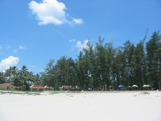 bãi biển Non Nước tại Resort Naman Đà Nẵng