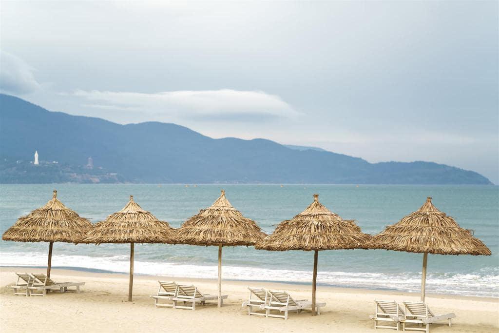 Naman Resort Đà Nẵng nằm ngay tại Bãi biển Non Nước Đà Nẵng