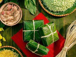 Món bánh chưng truyền thống đậm đà hương vị Việt