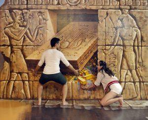 Đến với mảnh đất Ai Cập cổ đại tại bảo tàng tranh 3D Đà Nẵng