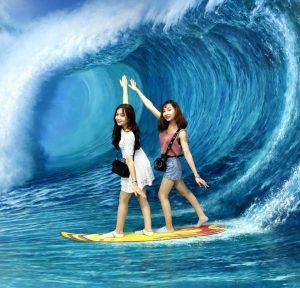 Lạc vào đáy đại dương với sóng biển và động vật rất thú vị tại khu vực Đại Dương