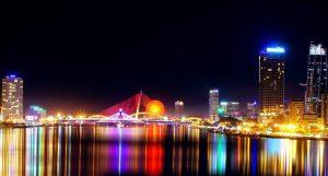 Những cây cầu Đà Nẵng về đêm