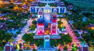 Tháp đồng hồ tại Asia Park Đà Nẵng