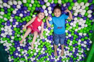 Các trò chơi nhẹ nhàng, an toàn cho trẻ em tại Asia Park Đà Nẵng