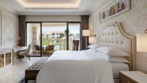Căn phòng Deluxe pool view rất đáng để nghỉ dưỡng