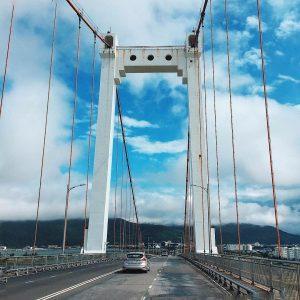 Cầu Thuận Phước- cầu treo dây võng hiện đại và dài nhất Việt Nam