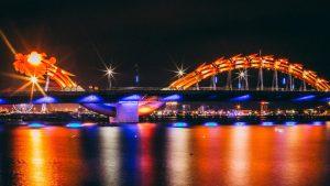 Cầu rồng- biểu tượng du lịch Đà Nẵng