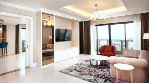 Thiết kế ấn tượng, trang nhã và hiện đại bậc nhất của các căn phòng tại Resort Sheraton Đà Nẵng